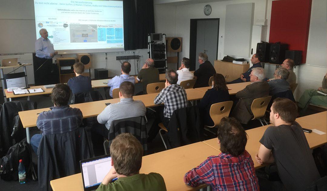 Herrmann Sauer mit Vortrag an Hochschule RheinMain