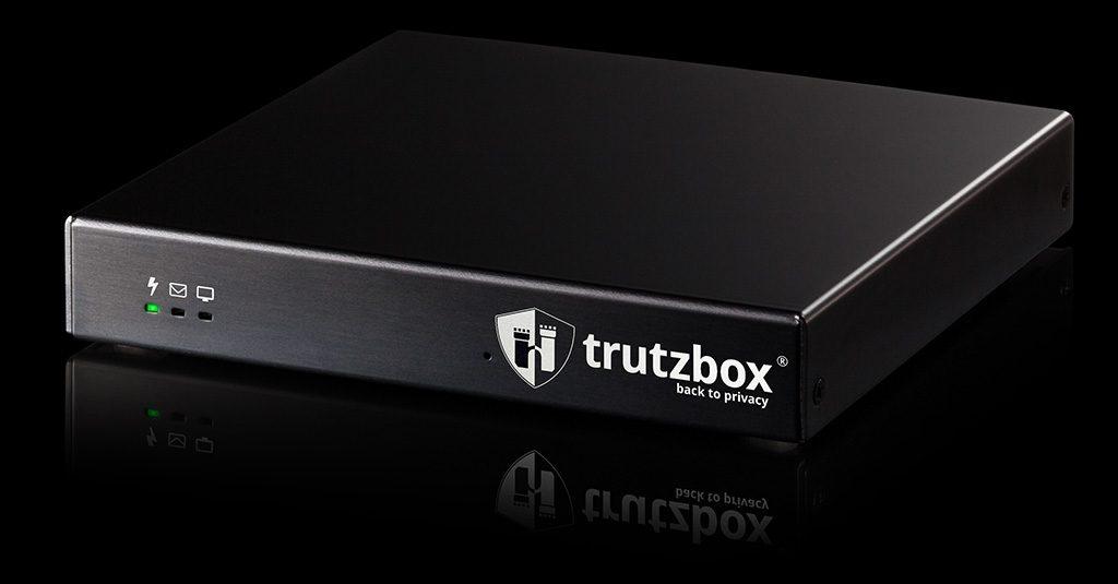 Beispiel für eine Privacy-Box: Die Trutzbox