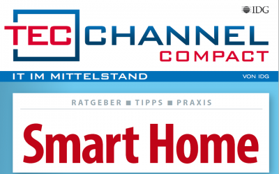 "01.10.2018 TrutzBox im Computerwoche-Magazin Tecchannel ""Smart Home"""