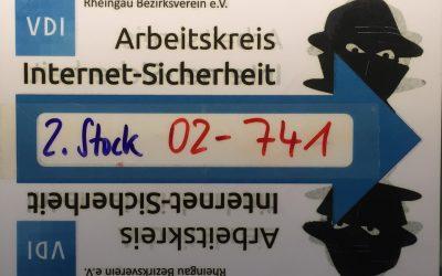 """Demnächst: 04.05.2019 Comidio leitet VDI Workshop """"Browser und Surfen"""" an JGU, Mainz"""