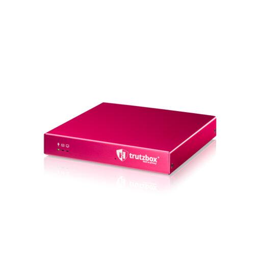 Trutzbox Business, seitliche Ansicht ohne W-LAN Antennen