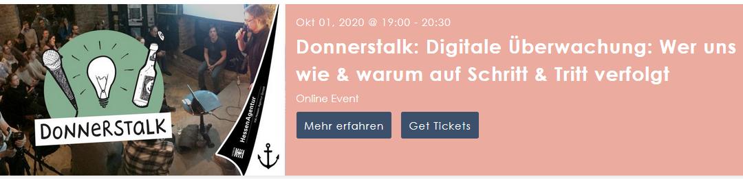 01.10.2020 19.00 Uhr Hermann Sauer im Oktober-Donnerstalk des Heimathafen Wiesbaden (online)