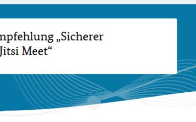 """Neue BSI-Empfehlung """"Sicherer Einsatz von Jitsi Meet"""""""
